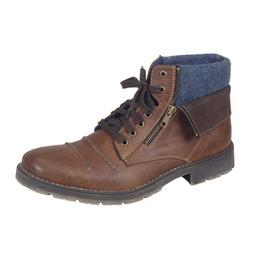 Obuv Rieker - Zimná - Hnedé šnurovacie zateplené topánky Rieker c88603077e