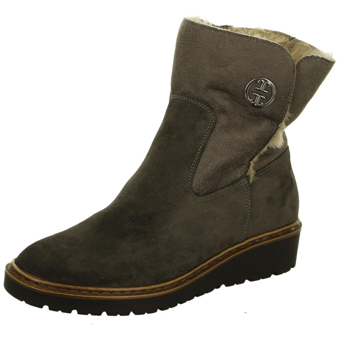 d6cfbd8cddca ARA - Čižmy - Hnedá dámska kožená obuv členková značky Jenny