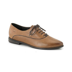 6143f64db950 Hnedé šnurovacie kožené topánky Gerry Weber