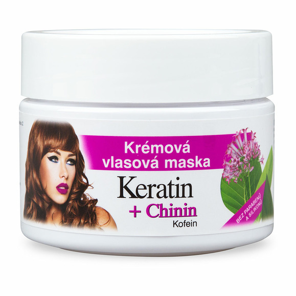 BC BIO Keratin +Chinin Kofeín vlasová maska 260ml