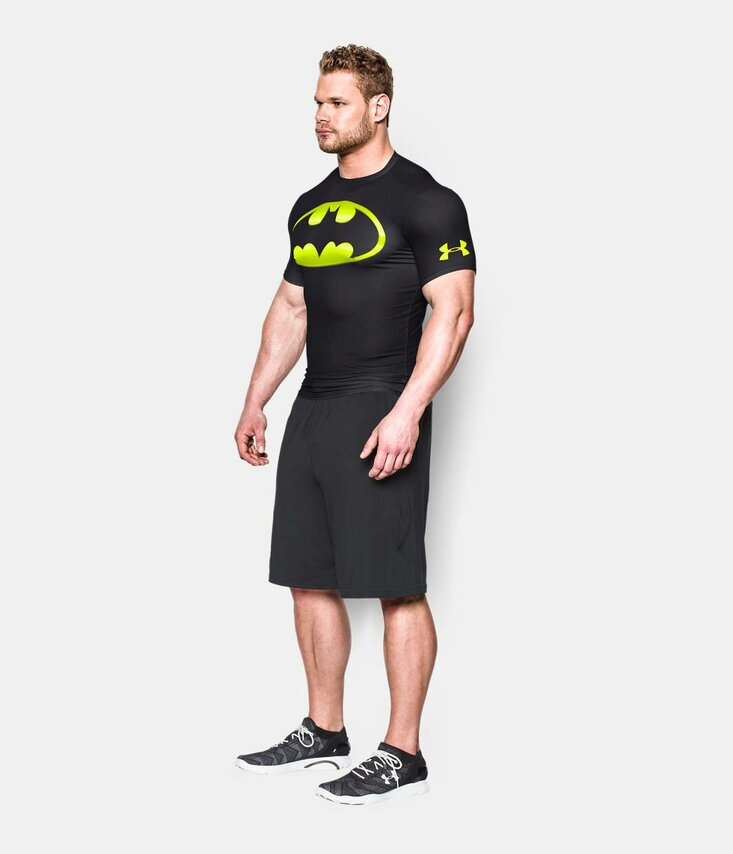BATMAN 2.0 COMPRESS SLEEVE SHIRT Tričko