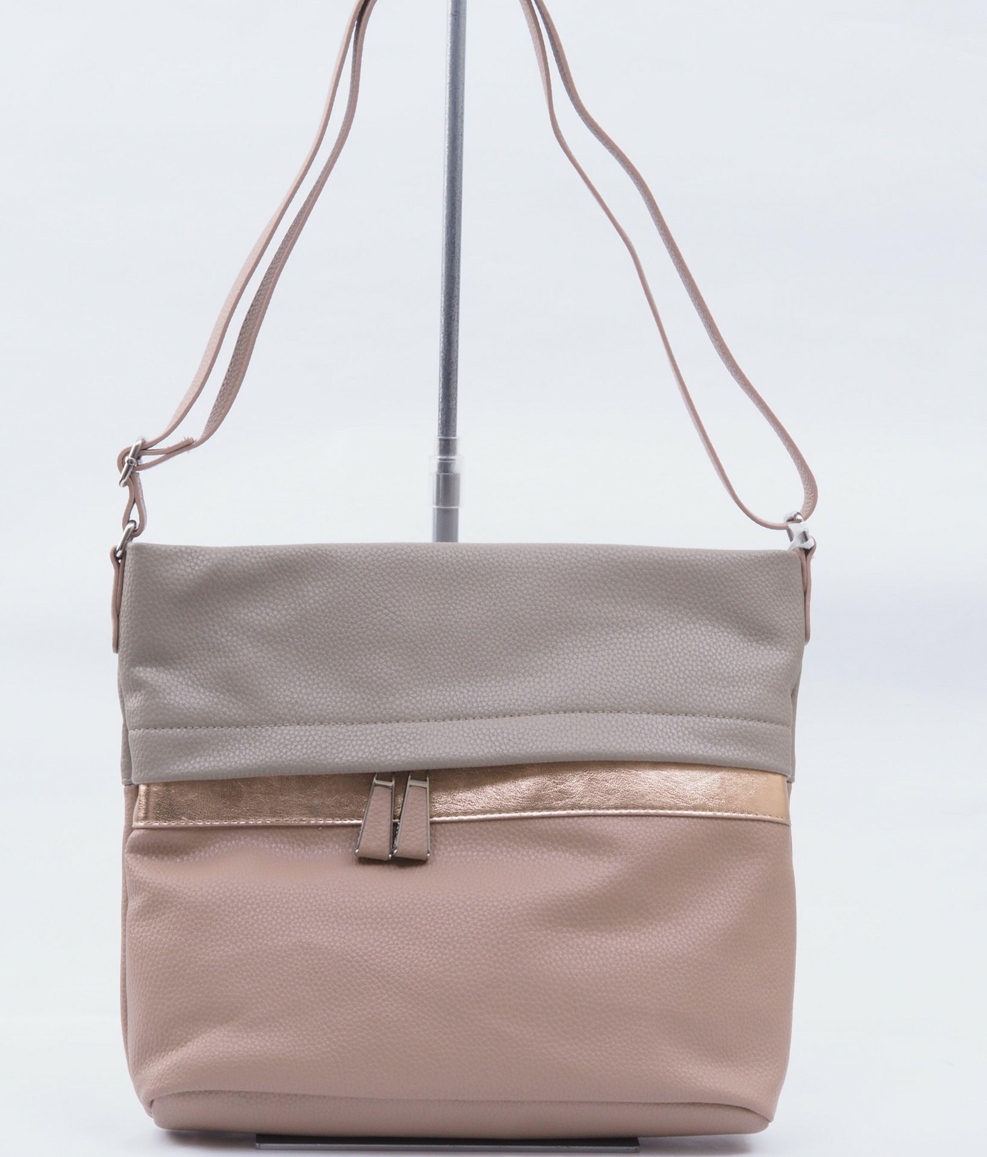 9178143a0e ARA - Dámske kabelky - Dámska kabelka cez telo (crossby) ružová
