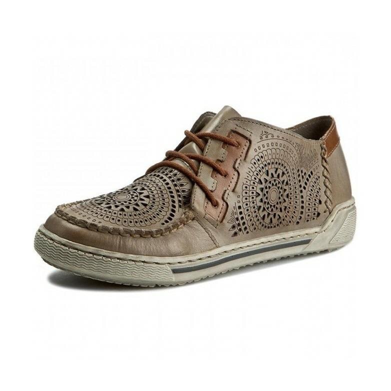692c14b367 Bledohnedé športové topánky Rieker